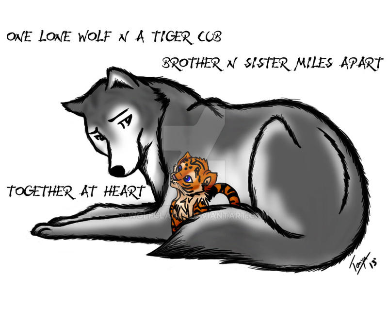 Wolf And Tiger Cub 2 Copy By Wolfclan87 ...