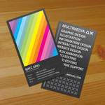 Rainbow Business Card v2