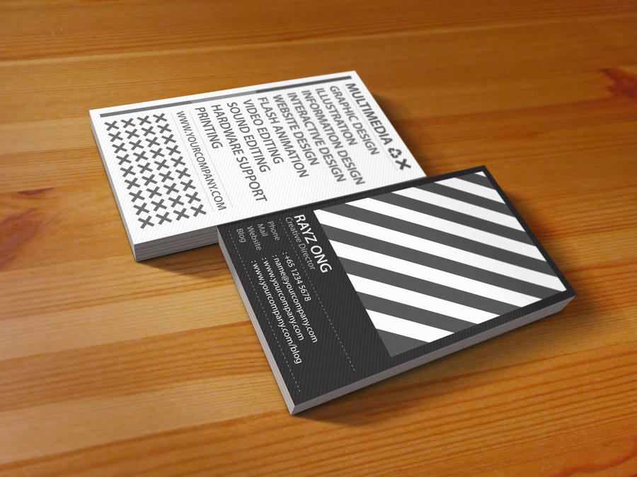 Black And White Business Cards images