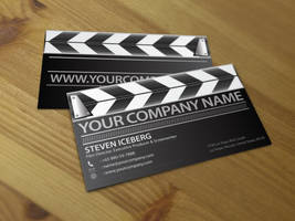 Film Director business card 1 by Lemongraphic