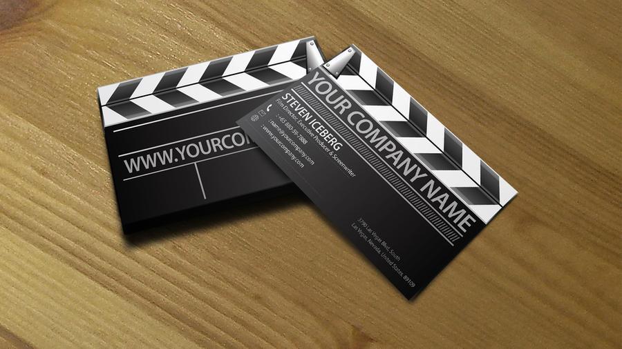 Film Director business card 2 by Lemongraphic on DeviantArt