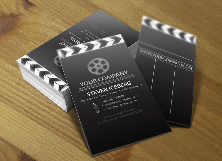 Film director business card 4 by lemongraphic on deviantart film director business card 4 by lemongraphic colourmoves Image collections