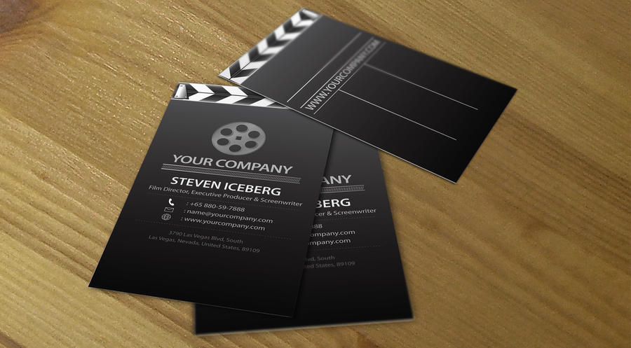 Film director business card 5 by lemongraphic on deviantart film director business card 5 by lemongraphic colourmoves