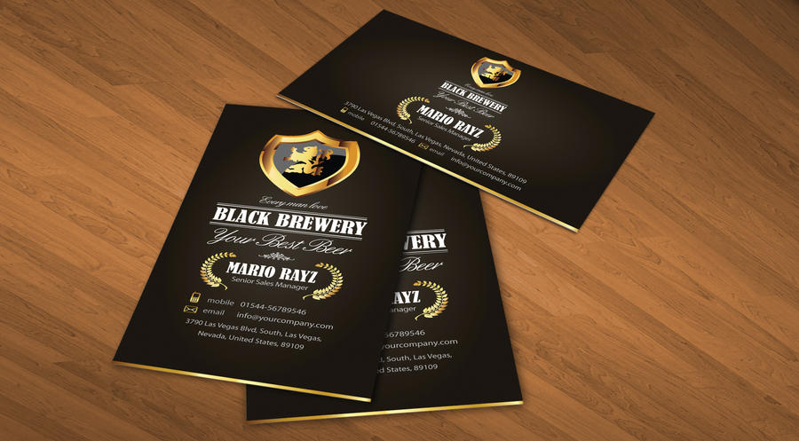Black brewery business card v2 by lemongraphic on deviantart black brewery business card v2 by lemongraphic colourmoves
