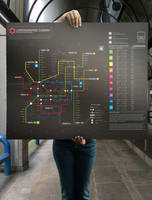 Subway infographic design lady by Lemongraphic
