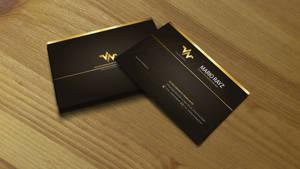 Golden Hot-Stamped Business 04
