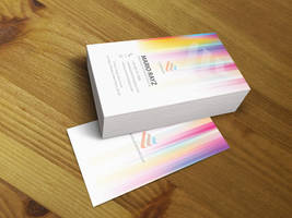 Pixel Gradient business 01 by Lemongraphic