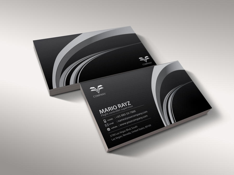 Air controller business card 4 by Lemongraphic