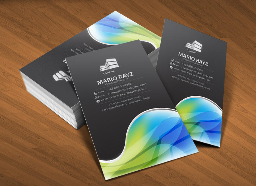 Global Universe business card1 by Lemongraphic