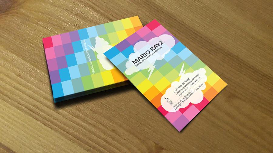 Checkered Rainbow creative 04 by Lemongraphic