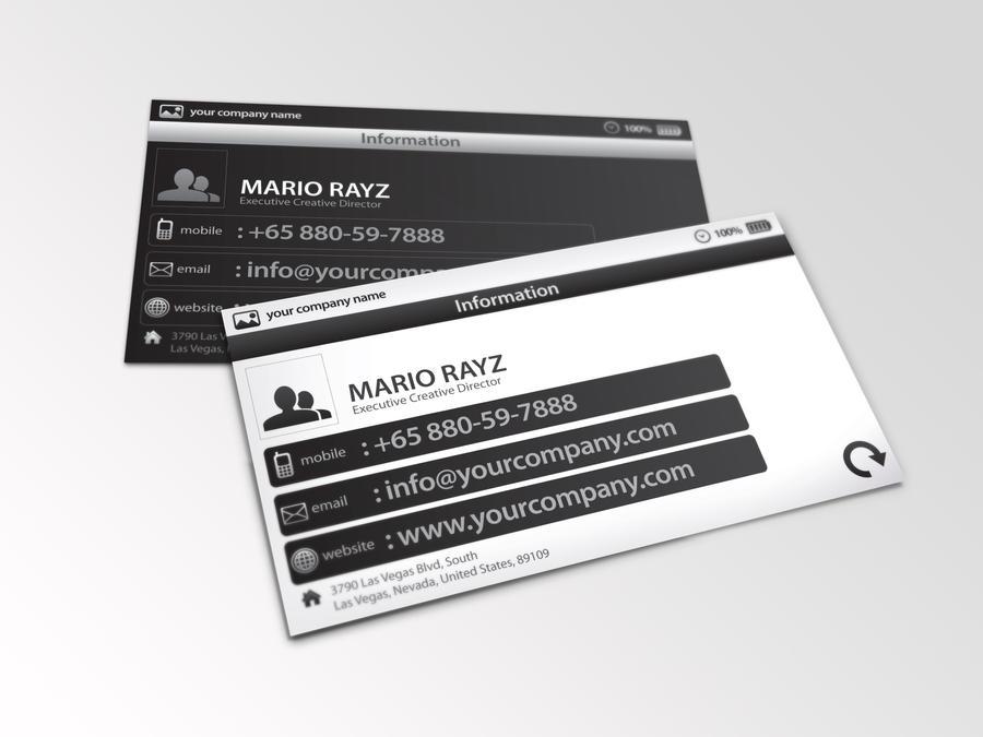 Minimalistic Business card 01