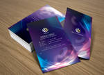 Electronica business card
