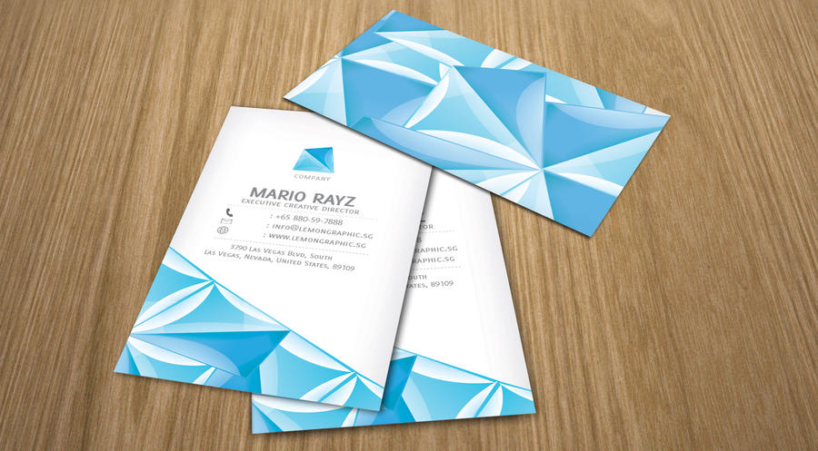 Crystal water business card by lemongraphic on deviantart crystal water business card by lemongraphic colourmoves Choice Image