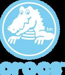 Crocs logo blue