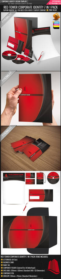 Red Tower Corporate identity