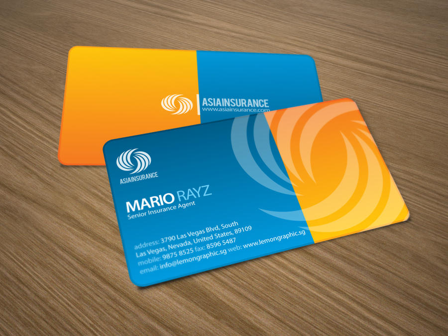 Asia insurance business card by lemongraphic on deviantart asia insurance business card by lemongraphic colourmoves