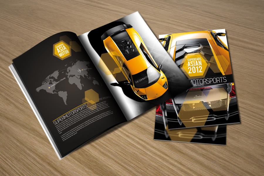 Supercars Asia 2012 brochure