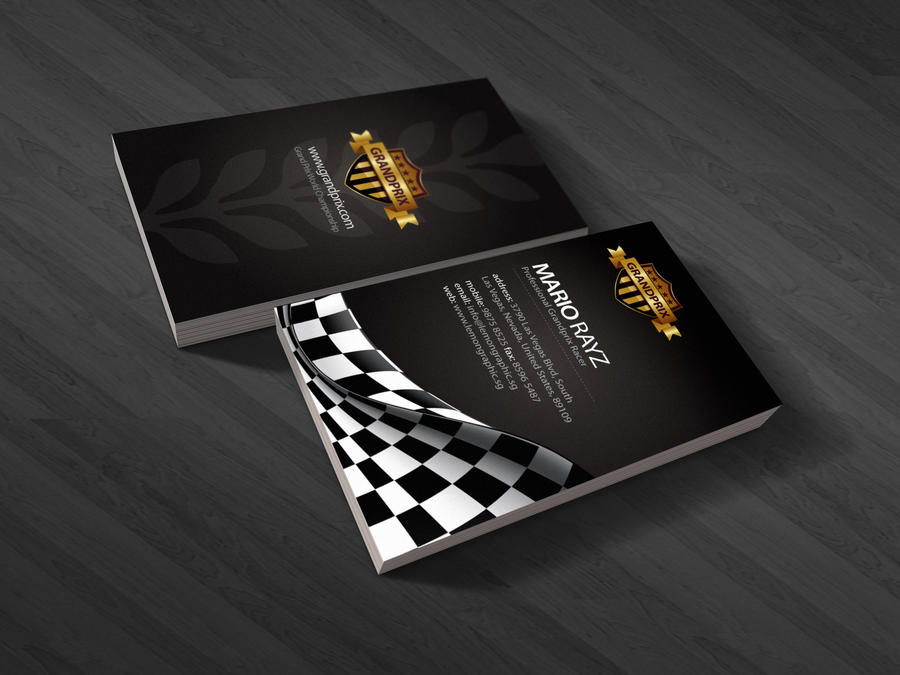 Grandprix business card