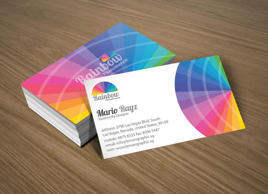 Rainbow phenomenon by Lemongraphic