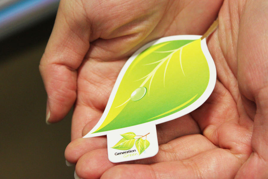 Leaf business card by Lemongraphic on DeviantArt