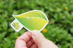 Leaf business card