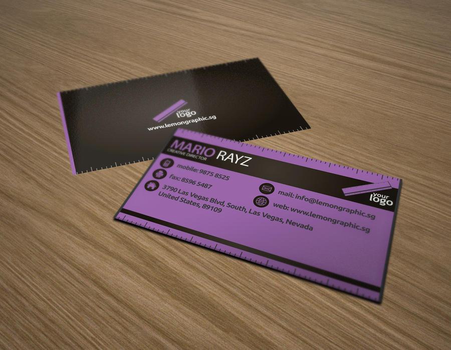 Renovator business card by Lemongraphic