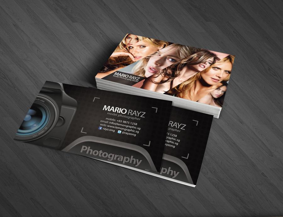 business card photographer cards photographers lemongraphic tarjetas presentacion elegantes deviantart con foto rayz mario cool help templates visita industry corporate