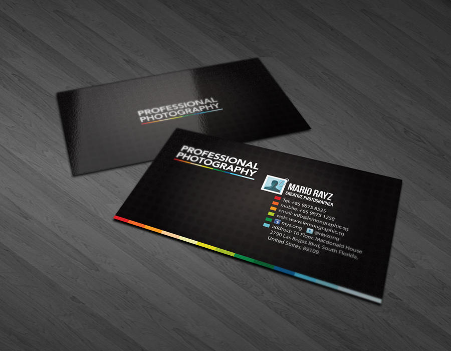 photography business card by lemongraphic on deviantart