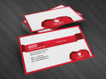 Edge corporate business card