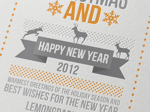 Merry Christmas Card 2012 by Lemongraphic on DeviantArt