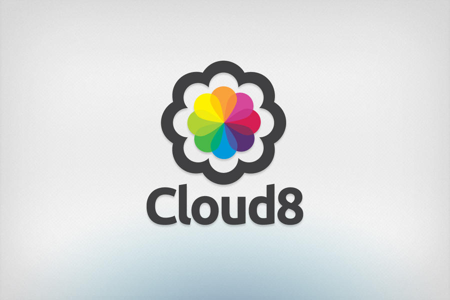 Cloud8 logo design