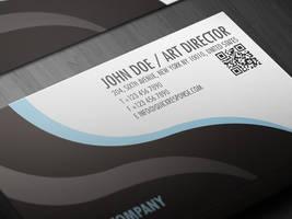 QR Quick Response business card design version 03 by Lemongraphic