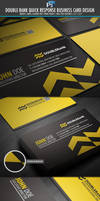 DoubleRank quick response business card