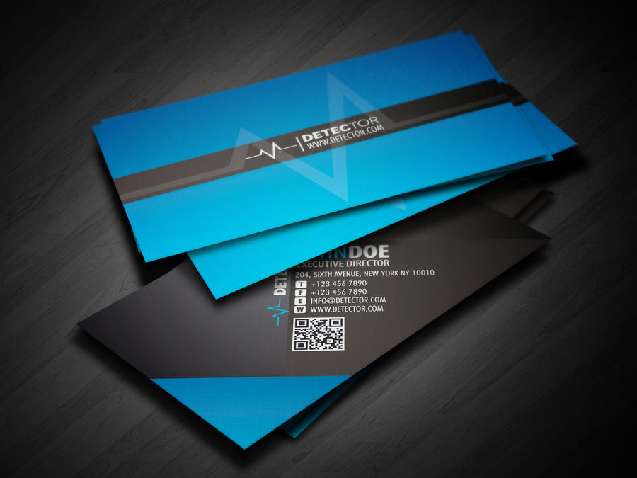 Detector Business Card Design By Lemongraphic On DeviantArt