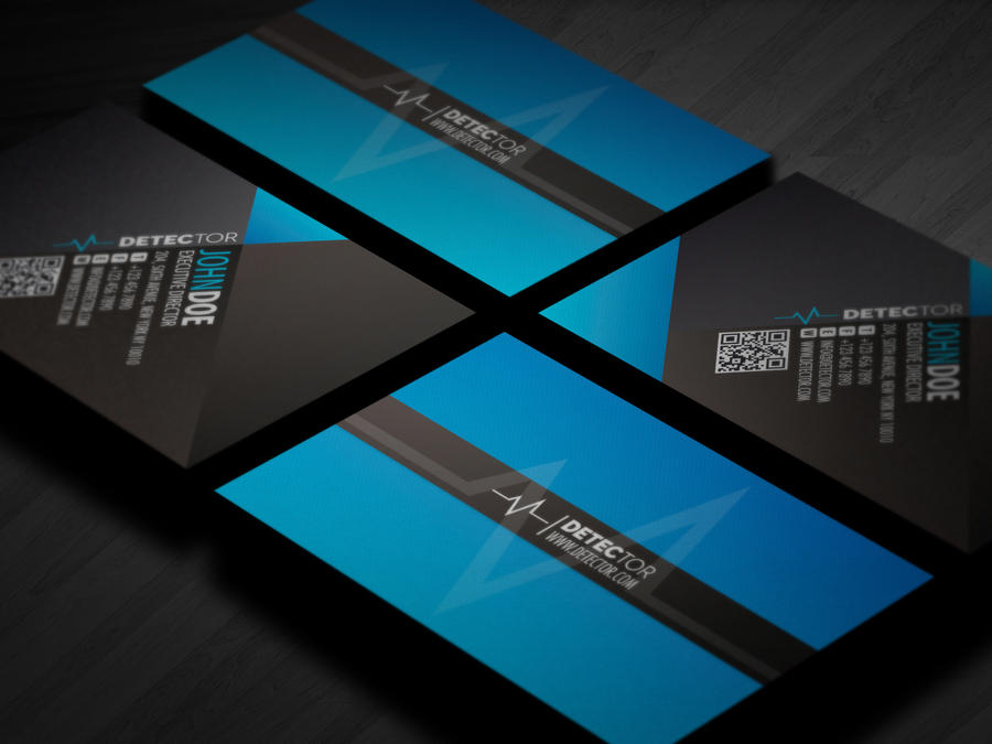 detector business card design by lemongraphic on deviantart