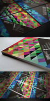 Pixel Mosaic Business Card by Lemongraphic