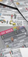Bad Hire Survey 2013 // Infographic design by Lemongraphic