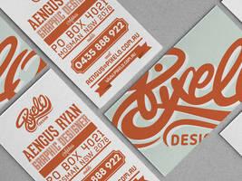 Pixelo corporate identity branding project by Lemongraphic