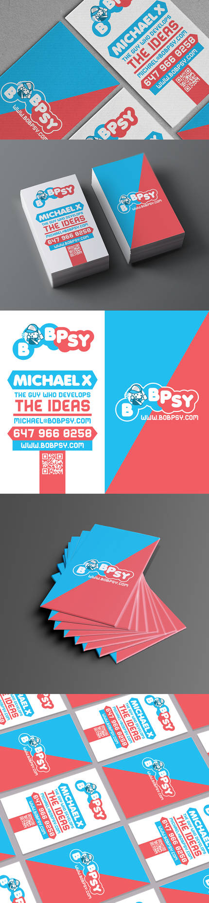 Bobpsy business card by Lemongraphic