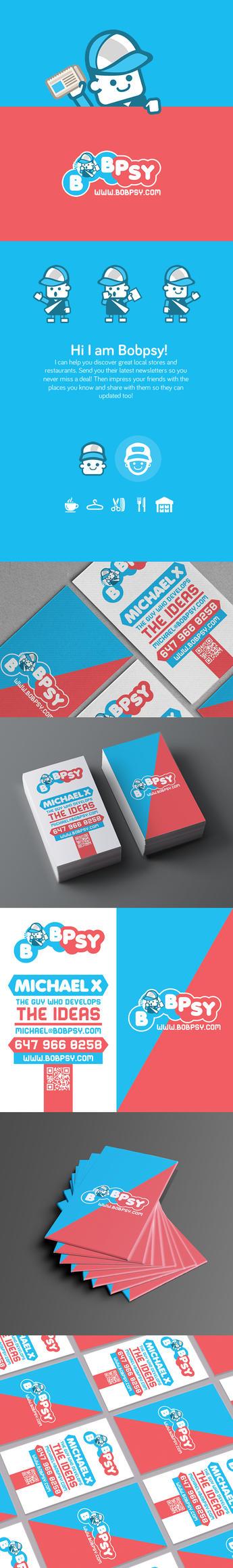 Bobpsy-logo-business-card-design by Lemongraphic