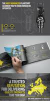 Digga corporate brochure design by Lemongraphic