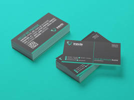 inevis GmbH - Business card design by Lemongraphic