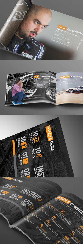 M Team Partnership Proposal Brochure Design by Lemongraphic