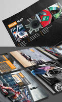 M Team Partnership Proposal Brochure Design