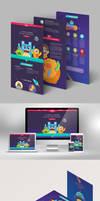 Zenn IE web and brochure design