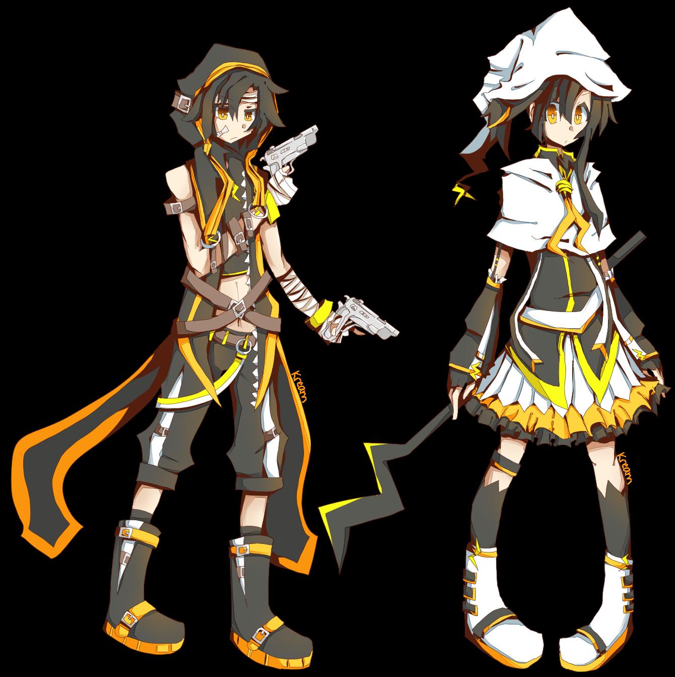 RPG Style - Raine Reizo/Raine Rena by Kream-Cheese
