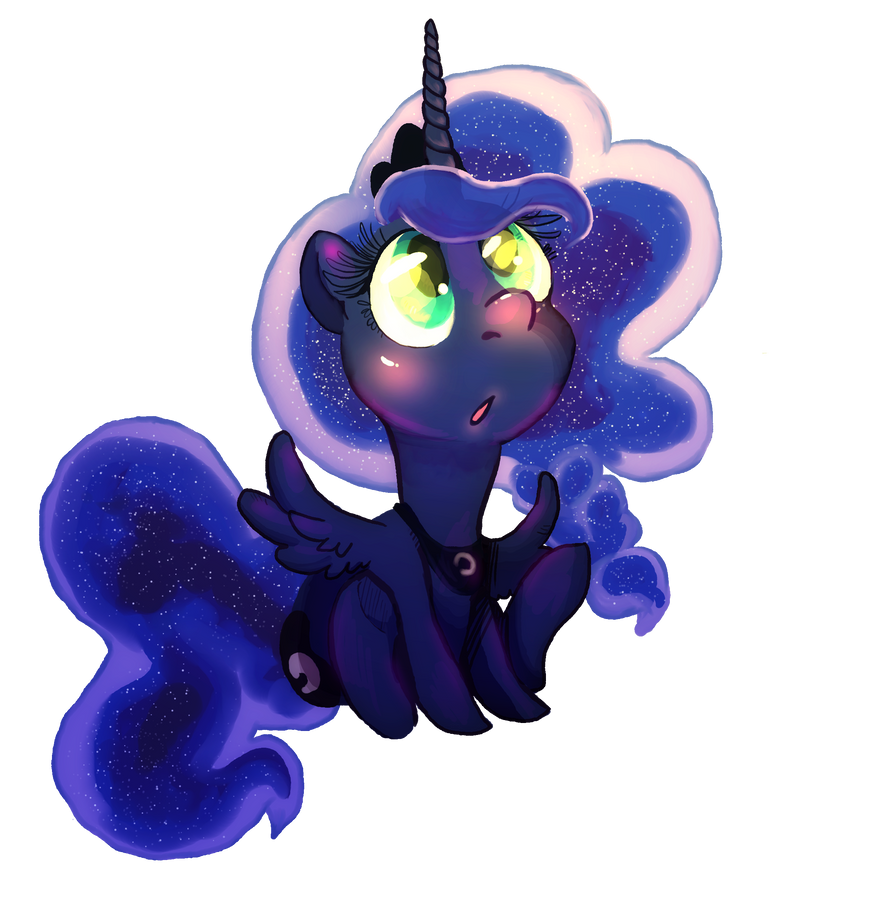 Overly cute and OOC Luna by KaoKay