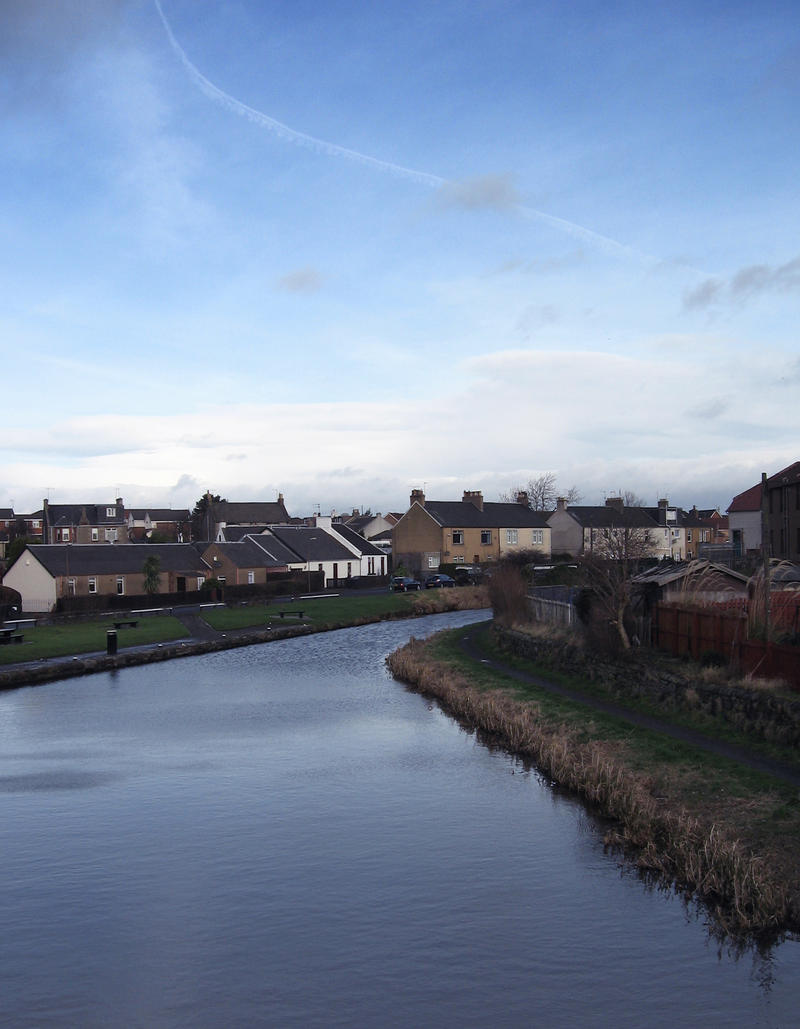 Union Canal from bridge