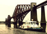 Ferry and Bridge by sicklittlemonkey