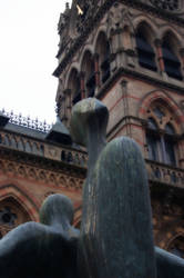 Modern Statue in Chester by sicklittlemonkey